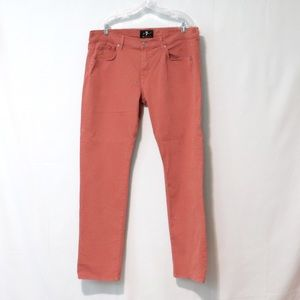 7 Mankind 38 luxe performance sateen straight pant